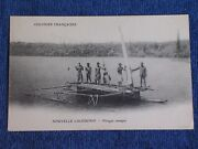 New Caledonia/french Oceania/native Crew On Outrigger Boat/printed Photo Pc