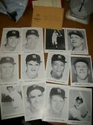 12 Pack With Envelope Ny Yankees Photos Jay Publishing Co. Mickey Mantle