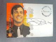 2004 Ink Works Justin Theroux Simon Walker Alias Auto A27 Signed The Left Overs