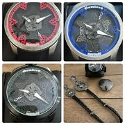 Bomberg B-68 L. Edition Bs45aosp-057 3 Watch Set Hard To Find 250 Made/each