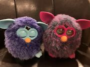 2012 Hasbro Furby Boom Voodoo Magic Purple Plum / As-is/ Parts Only