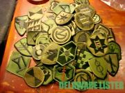Huge Lot Of 75+ Subdued Us Military Army Vietnam Wwii Shirt/jacket Patches New