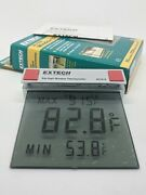 Extech Instruments Big Digit Digital Lcd Outdoor Window Thermometer 401016