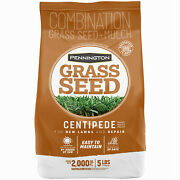 Pennington Seed 100532365 Centipede Grass Seed With Mulch, 5-lbs. - Quantity 6