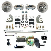 Fc2002 8405 Leed Brakes Power Front Kit With Plain Rotors And Zinc Plated