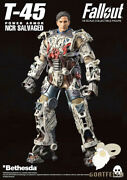 Ready New Authentic Threezero Fallout T-45 Ncr Salvaged Power Armor 1/6 14.5