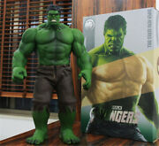 The Avengers Hulk Huge Size 55cm Figure Model Statue Collection In Box