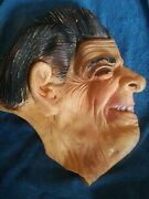 💥vintage 💥1980's Ronald Reagan Rubber Halloween Mask, Made In Germany 💥rare💥