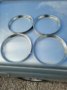 4 Real Nice 14 1940and039s / 1950and039s Trim Rings