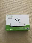 Brand New Microsoft Xbox One S All-digital Edition 1tb Video Game Console -white