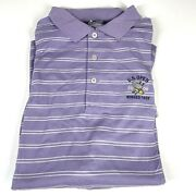 Polo Golf Large Purple Shirt U.s. Open 2006 Winged Foot 1411 D3