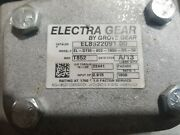 Electra Gear Double Reduction Worm Reducer 18001 Reduction 0.75 Hp Motor