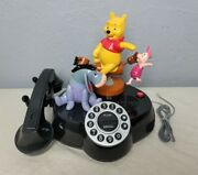 Vintage Disney Animated Talking Winnie The Pooh And Friends Telephone