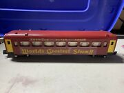 American Flyer Repainted Circus Passenger Car Knuckle Couplers