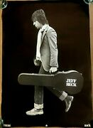 Original Ex-rare Jeff Beck - And039there And Backand039 - Epic Records Poster - 1980