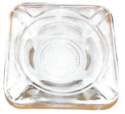 Vintage 1950 Clear Glass Ashtray Coudersport Pa Consistory Class