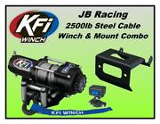 2500lb Kfi Winch And Mount Combo-yamaha Grizzly 660 2002-2008