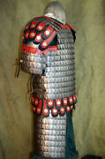 18ga Mild Steel Early Medieval Russian Scale Armor Cuirass Medieval Breastplate