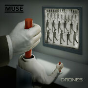 Muse Drones Deluxe Double Red Vinyl Lp + Cd+ Dvd + Print Set Brand New