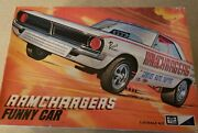 Vintage Sealed Bag Mpc Ramchargers Funny Car Model Kit 1/25 - 1970 Issue Lot 2