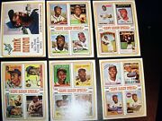 1974 Topps Baseball Complete Set Nm With Winfiield Psa 8 Incredible Set.