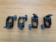 Set Of 4 Roland V-drum Clamps For Mds Rack, Td 11 17 25, For Cymbal Arm Or L-rod