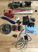 Lot Of Model Trains Parts - Rail Joiners / Screws / Parts And More