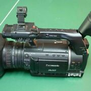 Panasonic Ag-hpx250 P2 Video Camera Pal And Ntsc - Only 315 Hours