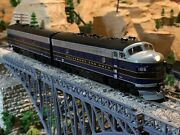 Ho Scale Athearn Genesis F7a F7b Diesel Locomotive B And O Extremely Detailed New