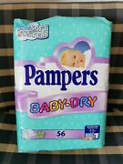 Pampers Vintage Sealed Package Vtg Diapers Couches Baby Alte Plastic