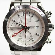 Longines Sports Admiral L3.670.4.76.6 Automatic White Dial Watch
