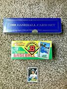 Triple- 1989 Griffey Topps Collectors Edition Bowman Set Sealed