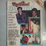 Rock And Soul Annual Spring 1984 Very Rare Vintage Publication