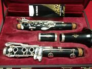 Buffet E-11 Wood Bb Clarinet Made In Germany W/new Yamaha 4c Mouthpiece