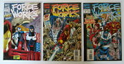 Force Works 1 1994 Marvel Comics Fold Out Pop Up Cover Plus 2 3 4 5 6 10 And 169