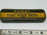 Vintage Romac Tire Repair Motorcycle Antique 1900and039s Hendee Pope Thor Triumph Bsa