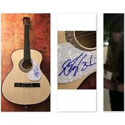 Gfa One Night Stand Country Kolby Cooper Signed Acoustic Guitar Proof B Coa