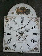 C1830 8 Day Longcase Grandfather Clock Dial+movement 12x17 Inch J Stratton Of