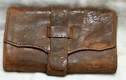 Wallet - Civil War Era Made By Holley Manufacturing Co Lakeville Conn