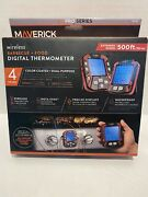 Maverick Xr-50 Wireless Smart Meat Thermometer, Plastic, Red-011502050509