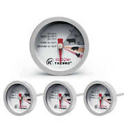Steak Button Thermometer Mini Poultry Meat Grill Barbecue Bbq Charcoal Set Of 4