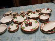 36 Pieces Franciscan Apple Dinnerware Setmostly Tv Marks