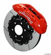 Wilwood Tx6r Front Kit 15.50in Rotor W/ Lines - Red - 17-19 Ford F150 Raptor - 1