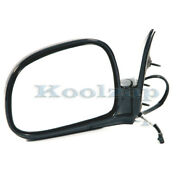 Tyc 94-97 Chevy S10/sonoma Pickup Truck Rear View Mirror Power Black Driver Side