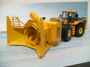 Extremely Rare 164 John Deere Wheel Loader With Rotary Snow Blower Attachment