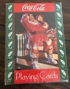 Coca-cola 1993 For Sparkling Holidays 334 Playing Cards Sealed New Collecters
