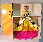 Bill Blass Barbie Doll 1997 - Nrfb/mint W/coa Stand And Shoes