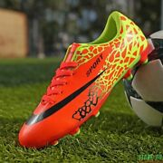 Soccer Boots Indoor Turf Futsal Sneakers Tf And Long Spikes Men Shoes Soccer Cleat