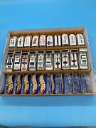 Hot Wheels Box Lot Of Racing Cars And Delivery Trucks 20 Pieces