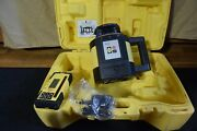 Leica Rugby 820 Red Beam Self Leveling Laser Level With Rod Eye 180
